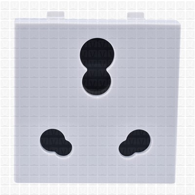 Simon S38 White Socket 16 Amp
