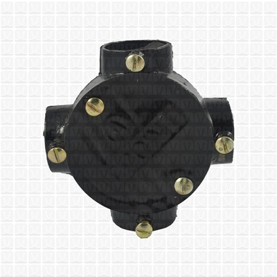 T-point Cast Iron Junction Box 20 MM
