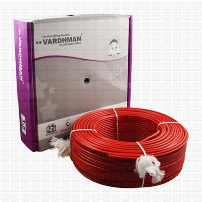 VARDHMAN 1.5 mm Wire Red (90 Mtr./Bundle)