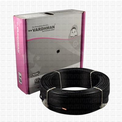 VARDHMAN 1.0 mm Wire Black (90 Mtr./Bundle)