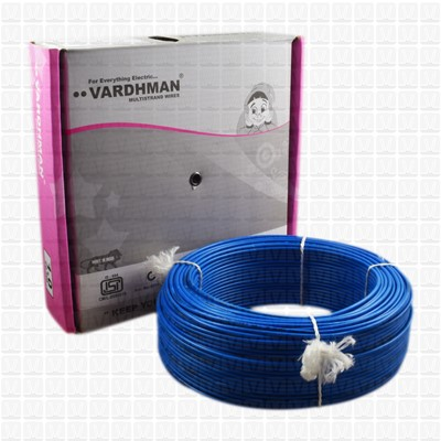 VARDHMAN 1.0 mm Wire Blue (90 Mtr./Bundle)