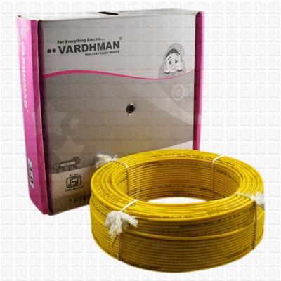 VARDHMAN 1.0 mm Wire Yellow (90 Mtr./Bundle)