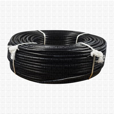 VARDHMAN 6.0 mm Wire Black (90 Mtr./Bundle)
