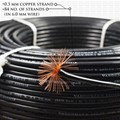 VARDHMAN 6.0 mm Wire Black (90 Mtr./Bundle)