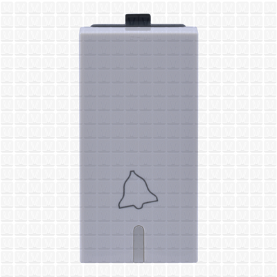 Simon S38 White Bell Push 1 Module